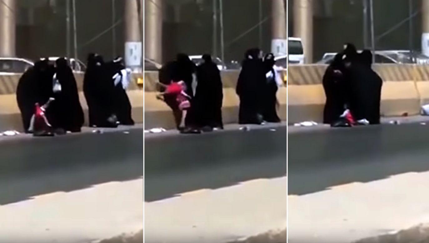 Zdarzenie miało miejsce na jednej z ulic w Rijadzie, stolicy Arabii Saudyjskiej (fot. YT/Studio 9 Investigation)