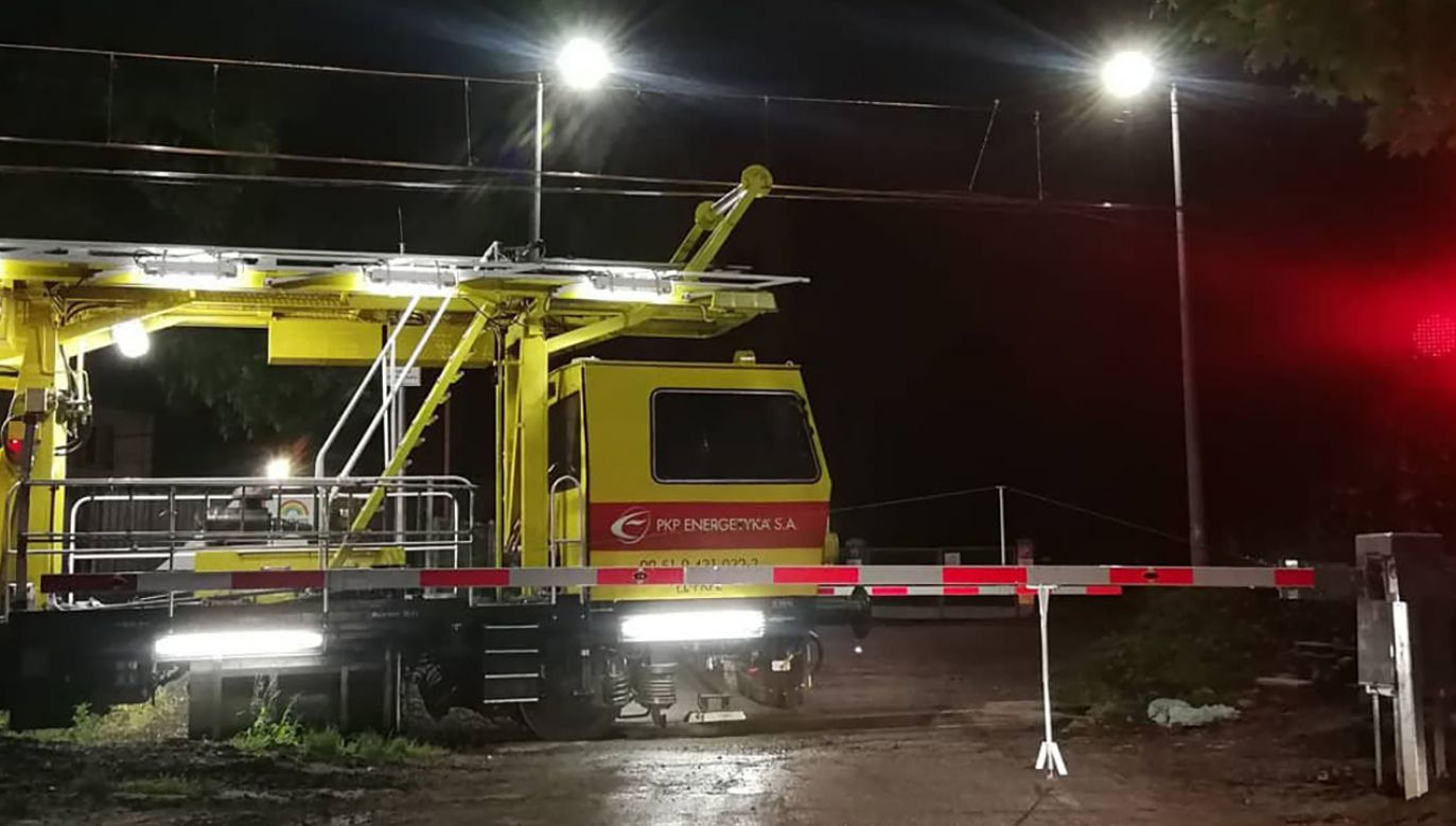 Prywatna firma PKP Energetyka S.A  jest głównym dostawcą energii elektrycznej niezbędnej do zasilania sieci trakcyjnych kolei (fot. Instagram/dr_poniatowski)