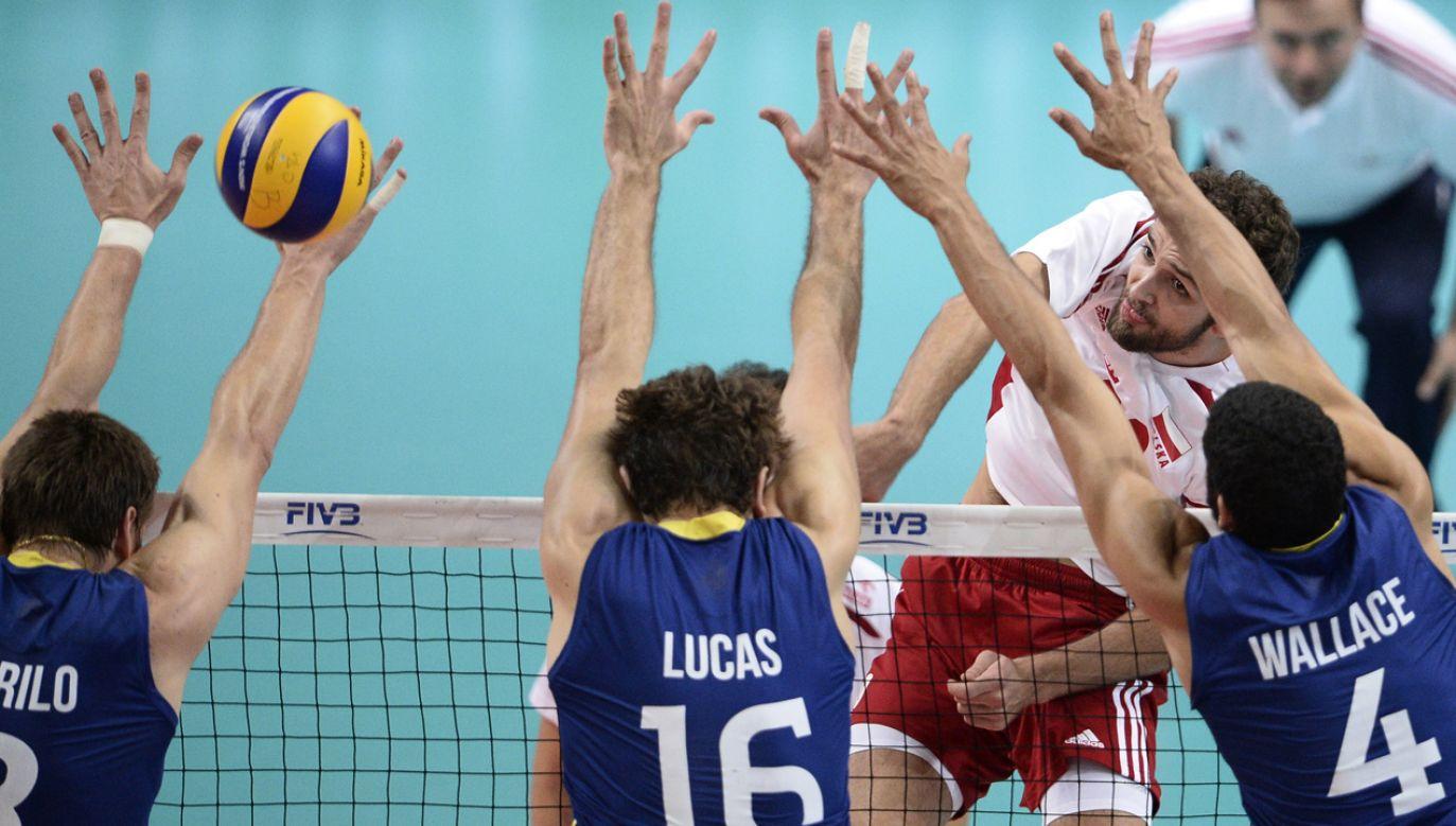 Mecz finałowy MŚ Polska – Brazylia w 2014 r. (fot. REUTERS/Irek Dorozanski)