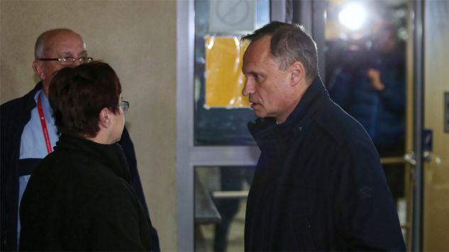 Leszek Czarnecki nie skomentował przesłuchania (fot. PAP/Andrzej Grygiel)