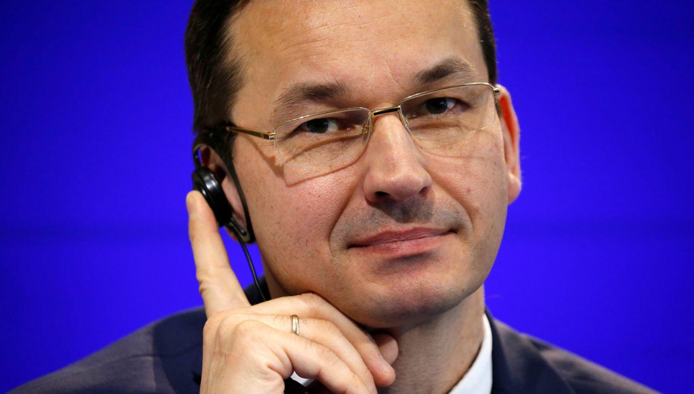 Mateusz Morawiecki zastąpi na stanowisku premiera Beatę Szydło (fot. REUTERS/Charles Platiau)