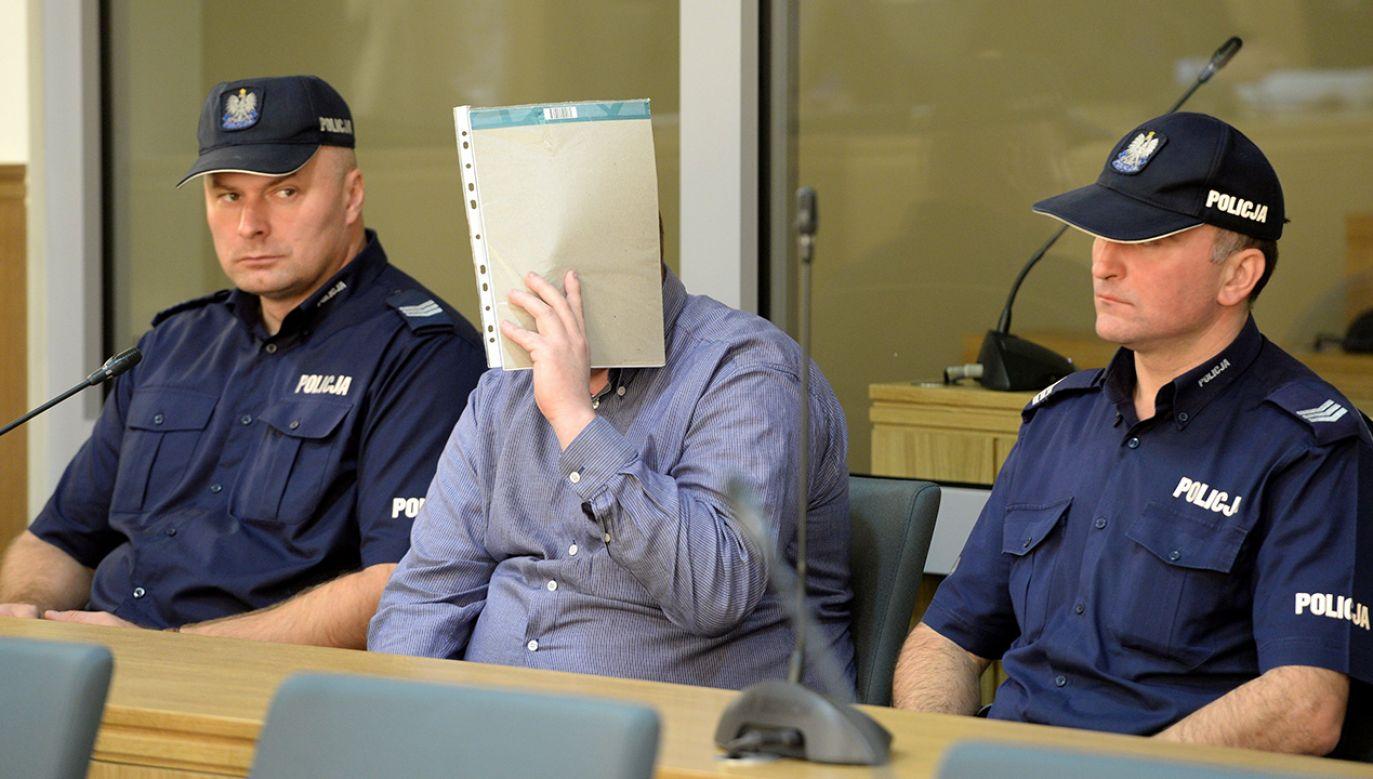 Proces 30-letniego mężczyzny oskarżonego o zabójstwa dwóch młodych kobiet (fot. arch. PAP/Piotr Polak)