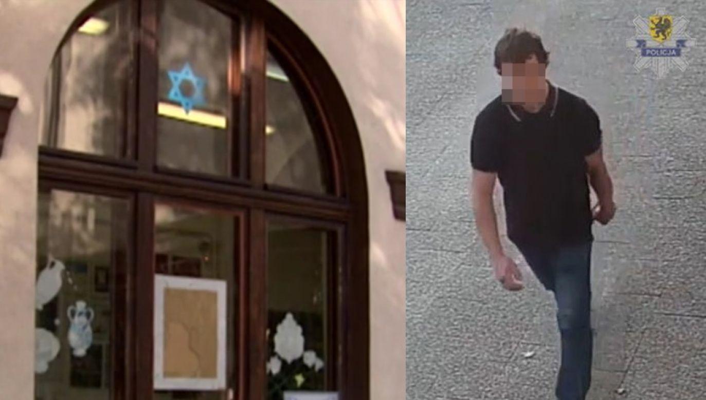 Podejrzany jest chory psychicznie (fot.pomorska.policja.gov.pl)