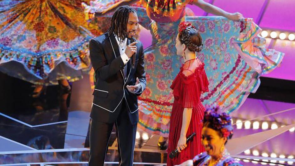 Miguel i  Natalia LaFourcade (fot. REUTERS/Lucas Jackson)