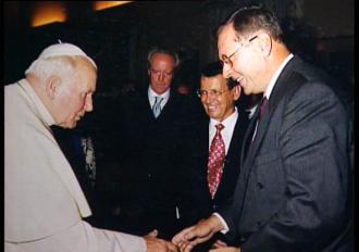 Moje spotkania z Papieżem