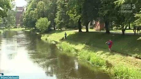 Mężczyzna utonął w centrum Słupska