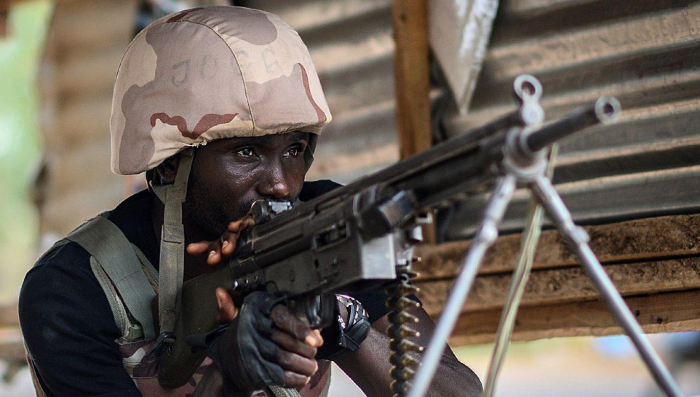 Wojsko odparło atak (fot. Mohammed Elshamy/Anadolu Agency/Getty Images)