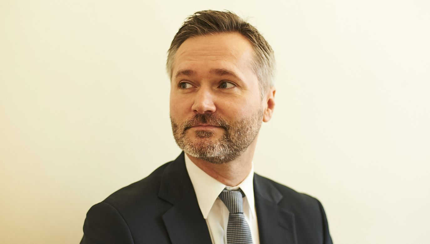 Eurodeputowany Jarosław Wałęsa (fot. arch. PAP/Dominik Kulaszewicz)