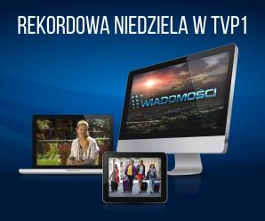 Rekordowa niedziela w TVP1!