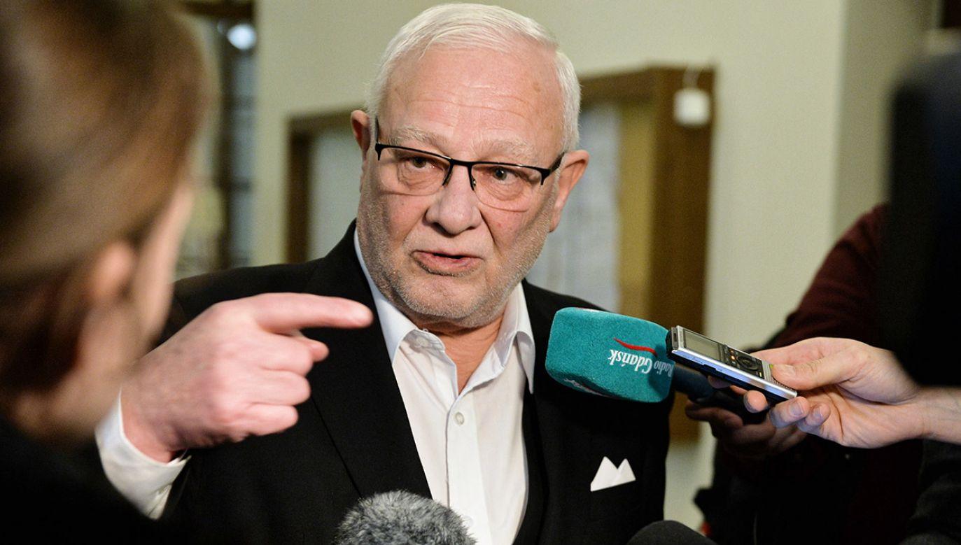 Krzysztof Pusz pełnił też funkcję wicewojewody pomorskiego (fot. PAP/Jan Dzban)