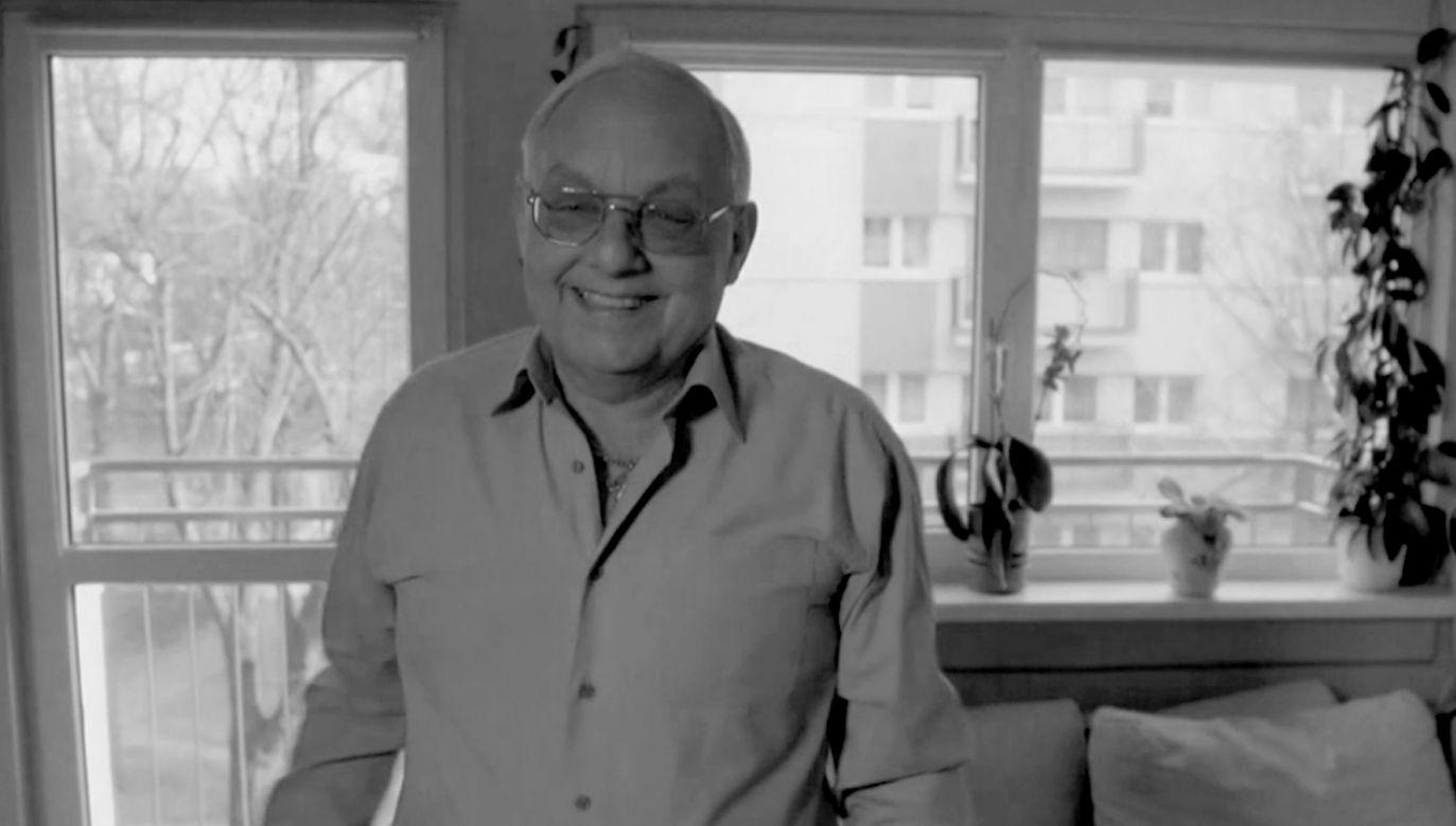 Cezary Mocek miał 67 lat (fot. TVP VOD)