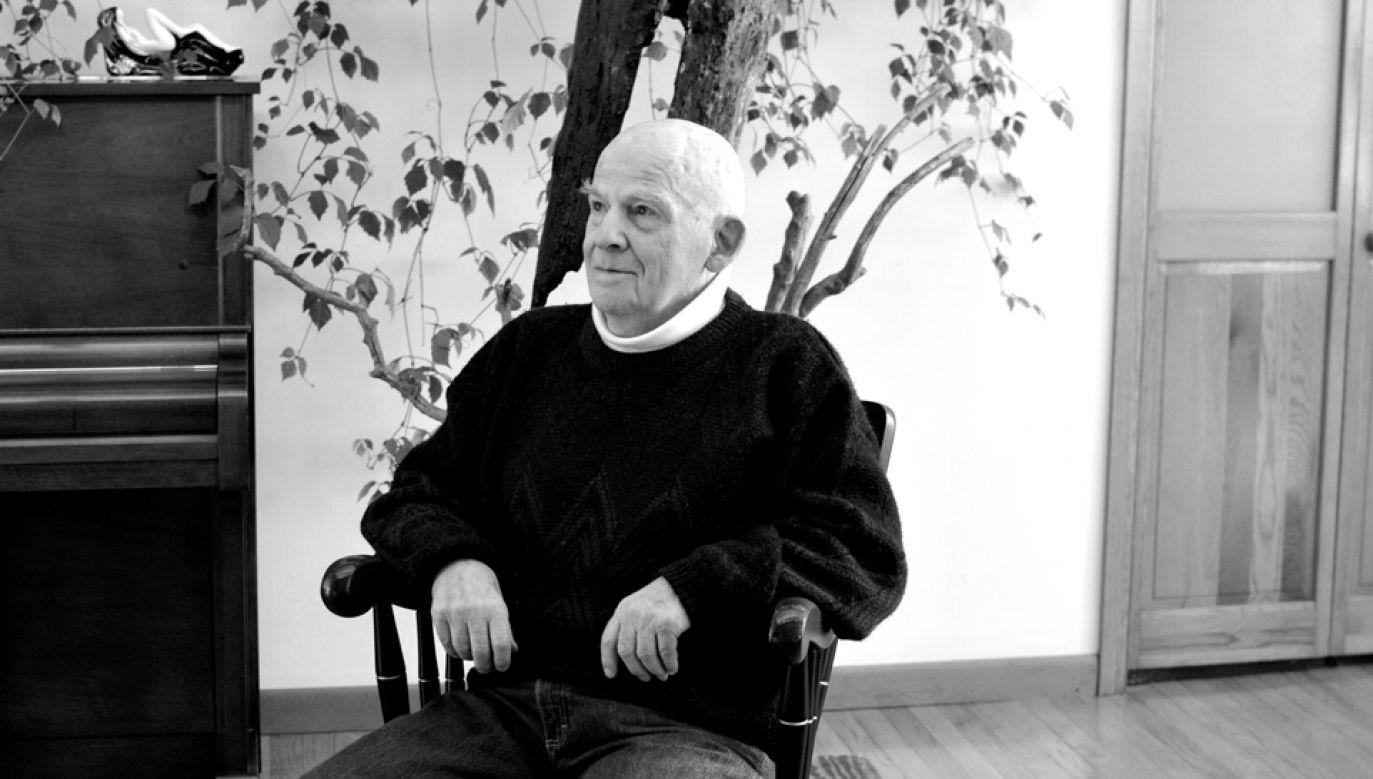 Lubomir  Tomaszewski zmarł w wieku 95 lat (fot. materiały Fundacji im. Lubomira Tomaszewskiego)