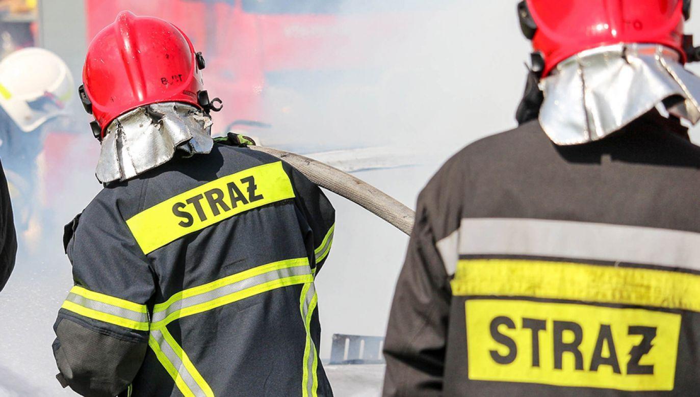 Gaszenie pożaru potrwa prawdopodobnie do rana (fot. Shutterstock/canon_shooter)