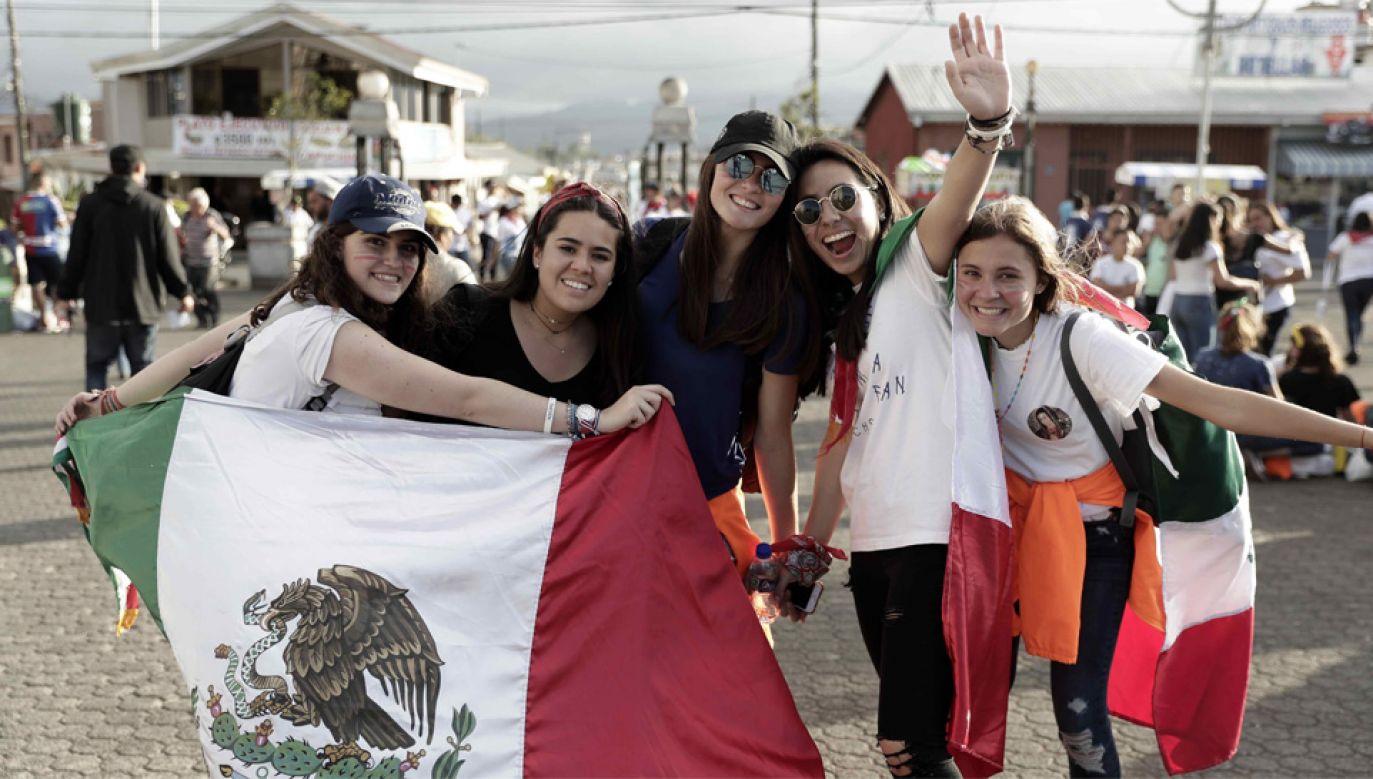 Po raz pierwszy w historii Światowe Dni Młodzieży odbywają się w kraju Ameryki Środkowej (fot. PAP/EPA/JEFFREY ARGUEDAS)