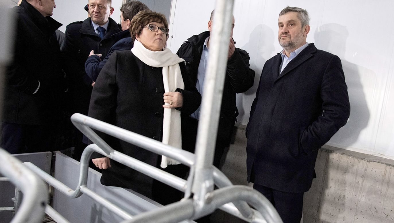 Ardanowski zaznaczył, że żywność stała się elementem wojen handlowych (fot. PAP/Grzegorz Michałowski)