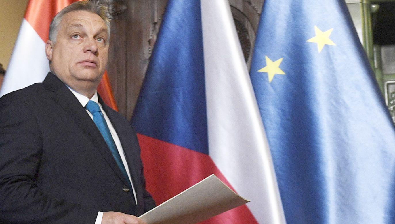 """""""Tu chodzi o godność Fideszu i całego kraju"""" – oświadczył minister kierujący kancelarią premiera Orbana (fot. arch.PAP/CTK)"""