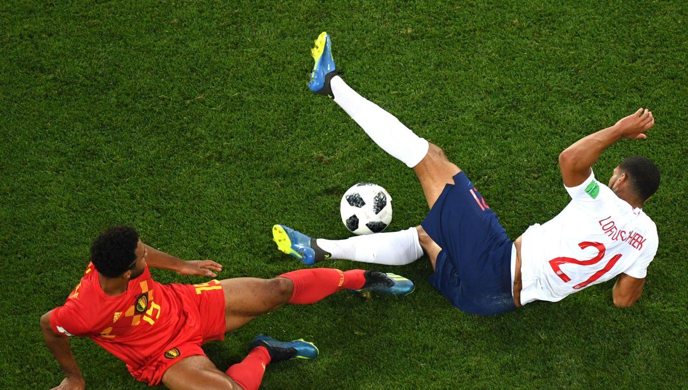 Obie reprezentacje spotkały się już w trakcie tegorocznego mundialu. W meczu fazy grupowej wygrali Belgowie (fot. Matthias Hangst/Getty Images)