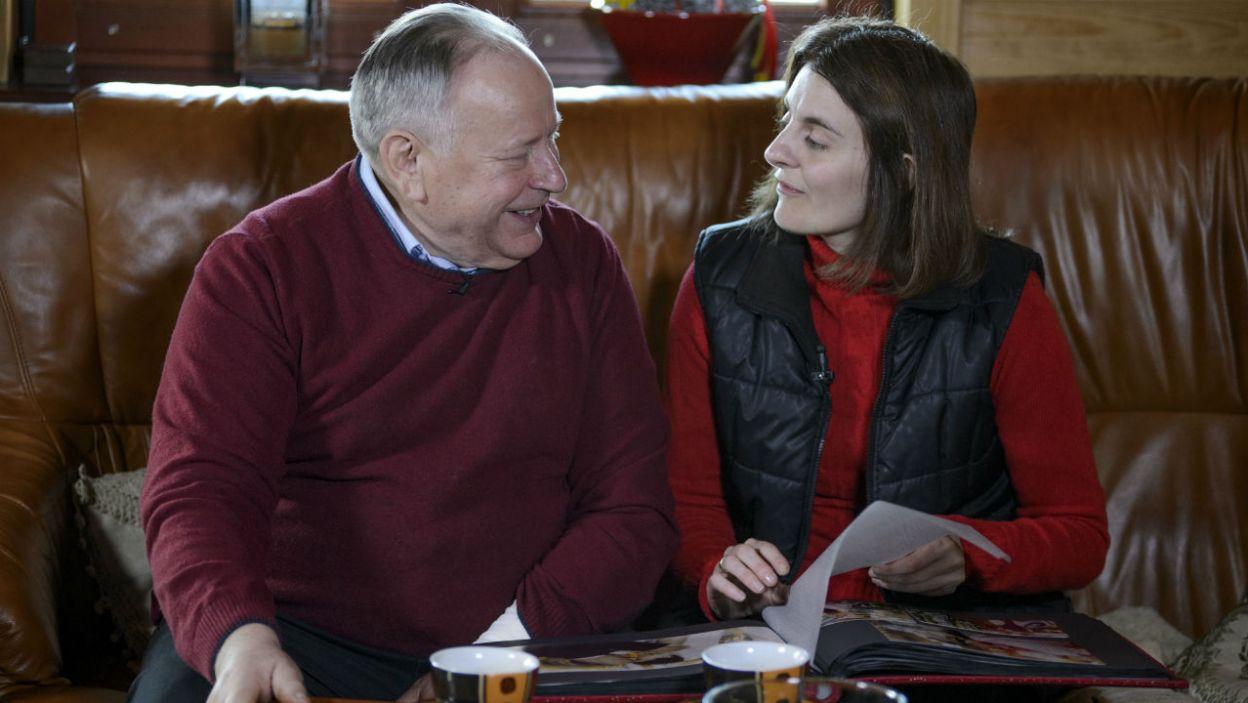 Mikołaj poprosił Martę o rękę w ubiegłym roku. Te święta spędzą już jako małżeństwo (fot. TVP)