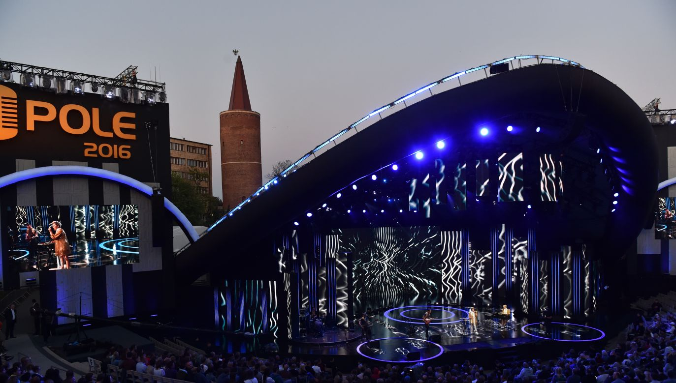 The 53th edition of the National Festival of Polish Song in Opole, 2016. Photo: PAP/Ireneusz Sobieszczuk