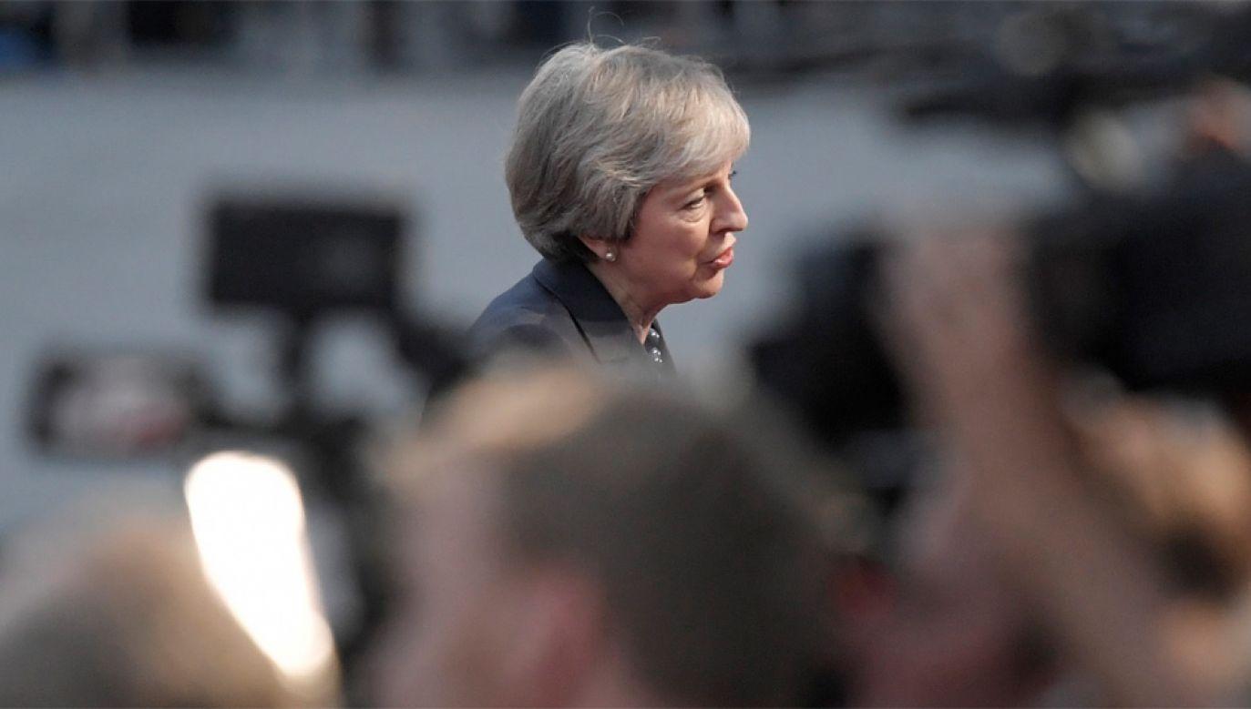 Theresa May negocjuje wyjście Wielkiej Brytanii z Unii Europejskiej (fot. PAP/EPA/CHRISTIAN BRUNA)