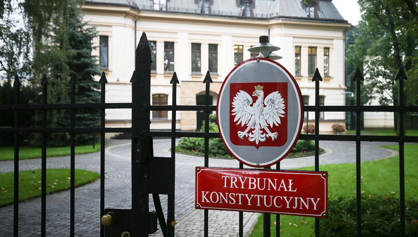 Prokurator Generalny zwrócił się do TK z pytaniem dotyczacym jednej z regulacji prawa europejskiego (fot. PAP/Paweł Supernak)