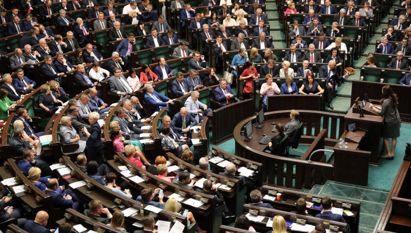 W Sejmu weszłyby PiS, PO, SLD  i Kukiz'15 (fot. TT/Kancelaria Sejmu)