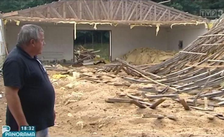Gmina Sierakowice po kataklizmie