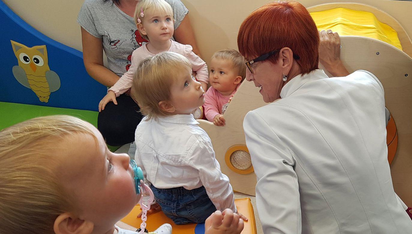 """W tym roku w ramach programu """"Maluch plus"""" w całym kraju powstanie około 24 tys. miejsc opieki nad dziećmi do lat trzech (fot. TT/Ministerstwo Rodziny)"""