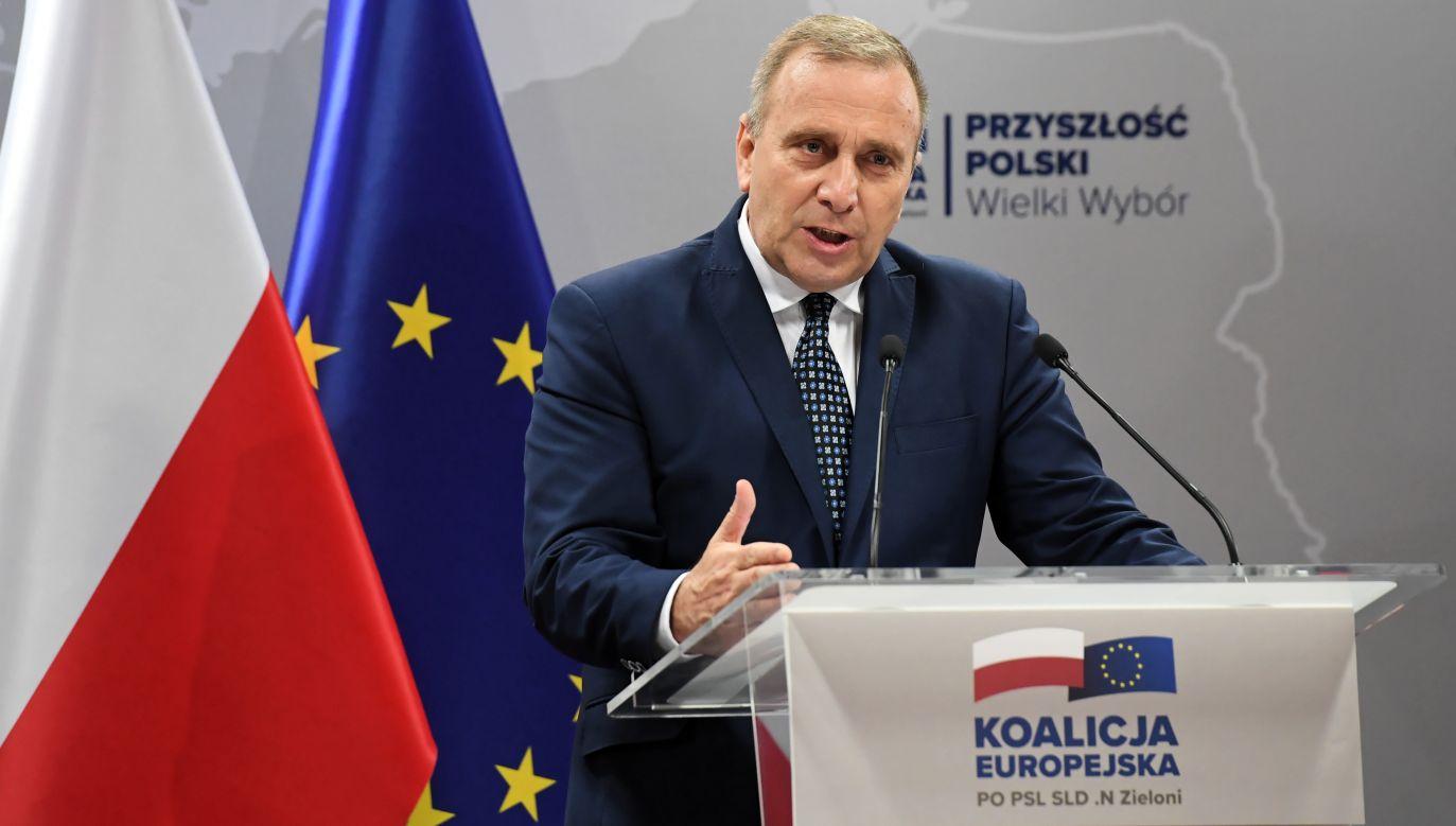 Konwencja KE w Krakowie (fot. PAP/Jacek Bednarczyk)