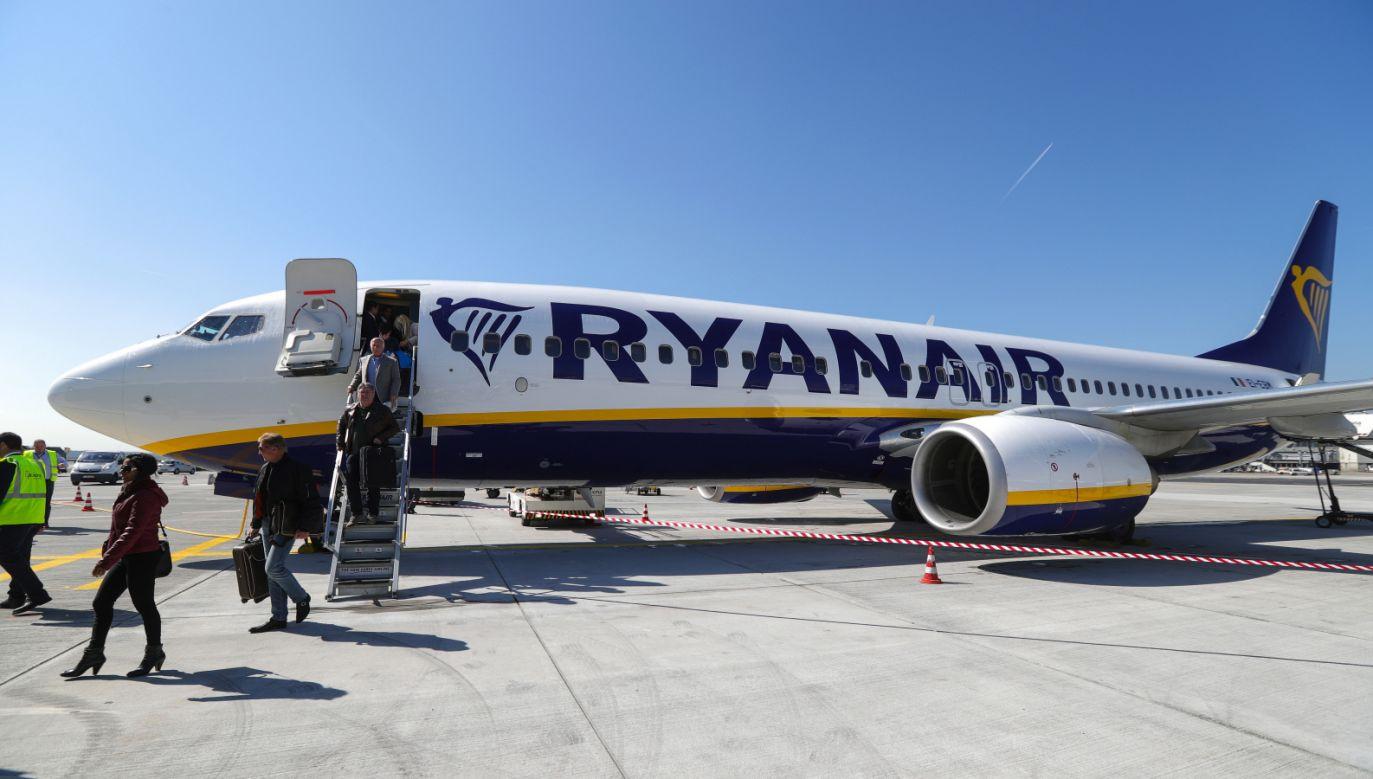 Ryanair lata w 37 krajach z 86 baz (fot. PAP/ EPA/ARMANDO BABANI)