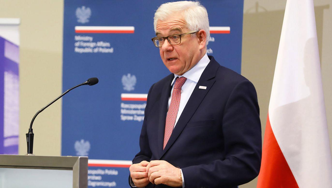 """""""Przedstawimy nowelizacje ustawy o Sądzie Najwyższym, pokazując, że w pełni realizuje ona oczekiwania TSUE"""" (fot. PAP/Rafał Guz)"""
