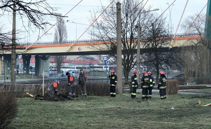 Uszkodzony gazociąg – utrudnienia na Toruńskiej