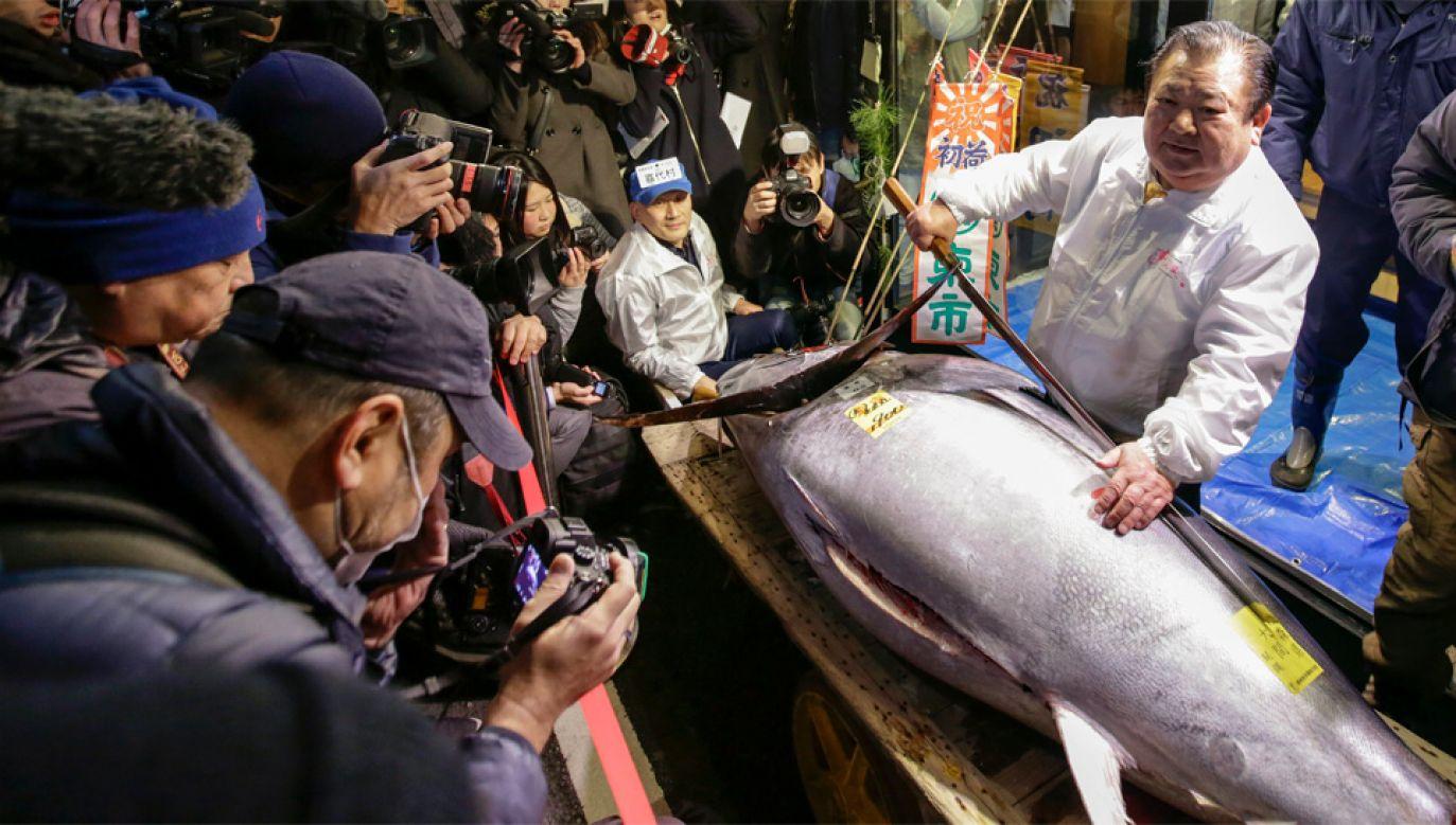 W ostatnich latach cena tuńczyków znacząco spada (fot. EPA/KIMIMASA MAYAMA)