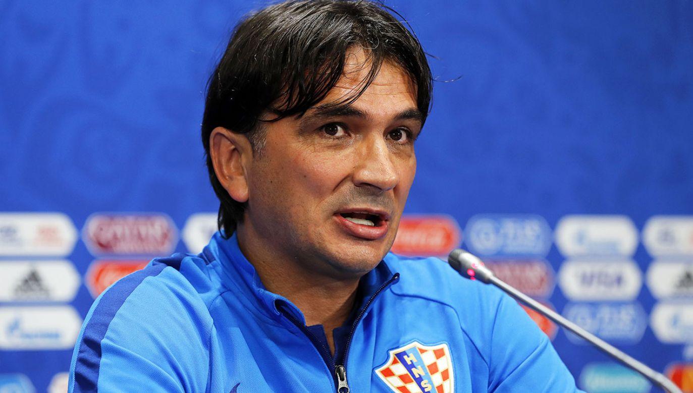 W środę o 20:00 w drugim z meczów półfinałowych Anglia zagra z Chorwacją (fot. PAP/EPA/FELIPE TRUEBA)