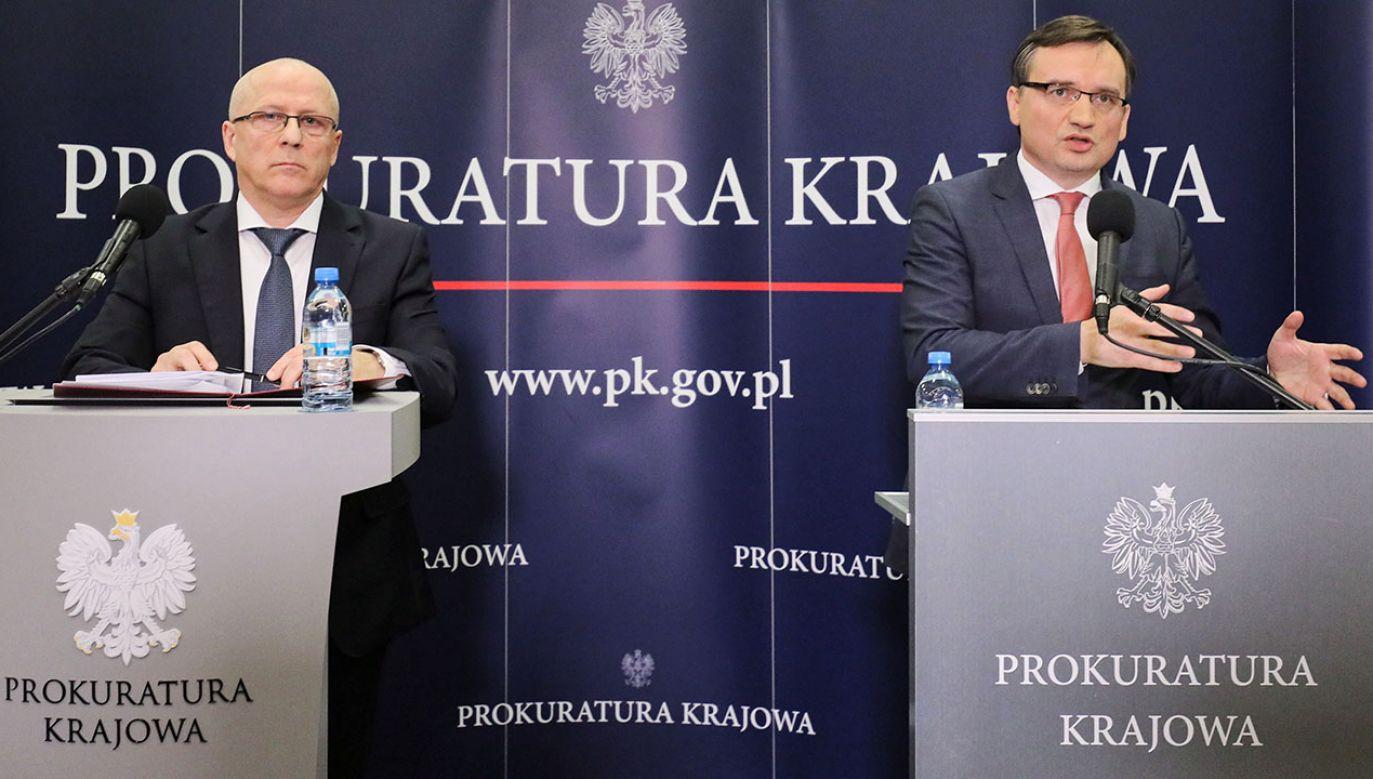 """Zbigniew Ziobro zapowiedział, że będzie chciał, """"aby prokurator odwołał się od tego wyroku"""" (fot. PAP/Paweł Supernak)"""