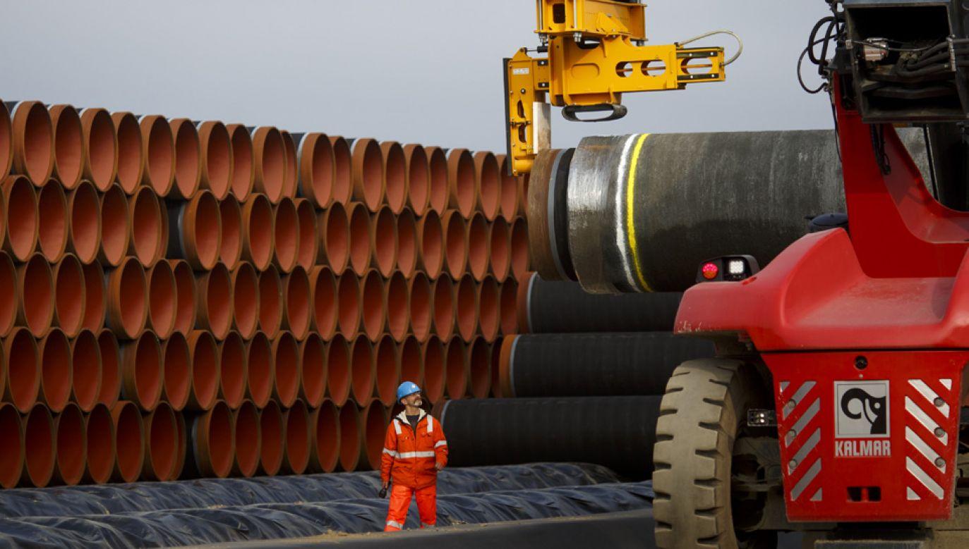 Rosja forsuje projekt Nord Stream 2 (fot. Carsten Koall/Getty Images)