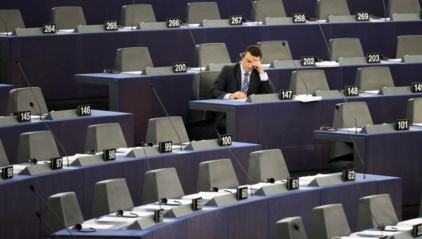 Największą reprezentację do PE wysyłają Niemcy – 96 europosłów, na drugim miejscu są Francuzi - 74, a później Włosi i Brytyjczycy – po 73 deputowanych (fot. Christopher Furlong/Getty Images)