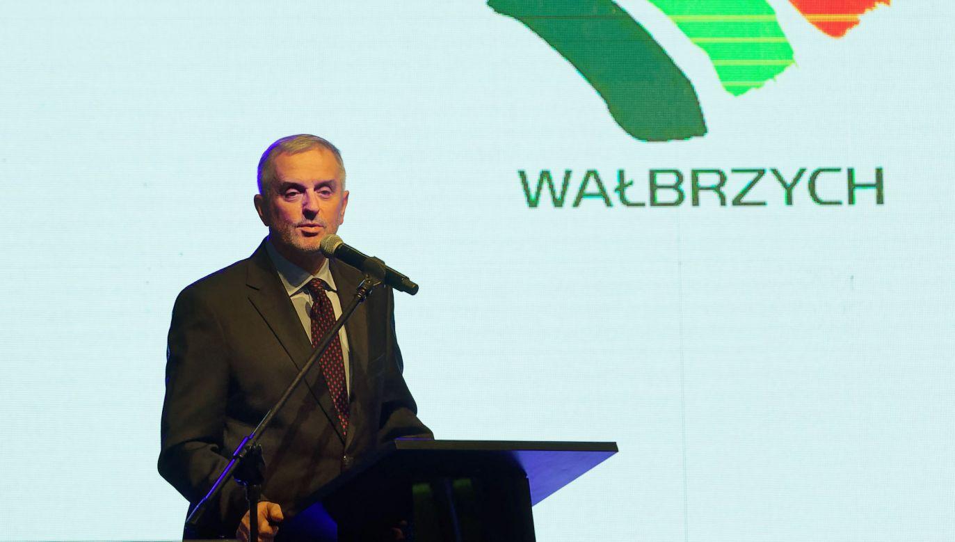 W Wałbrzychu zdecydowane zwycięstwo Romana Szełemeja  (fot. PAP/Jan Karwowski)