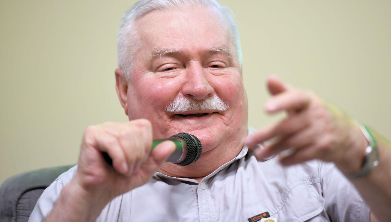 Former Polish President Lech Wałęsa. Photo: PAP/Wojciech Pacewicz