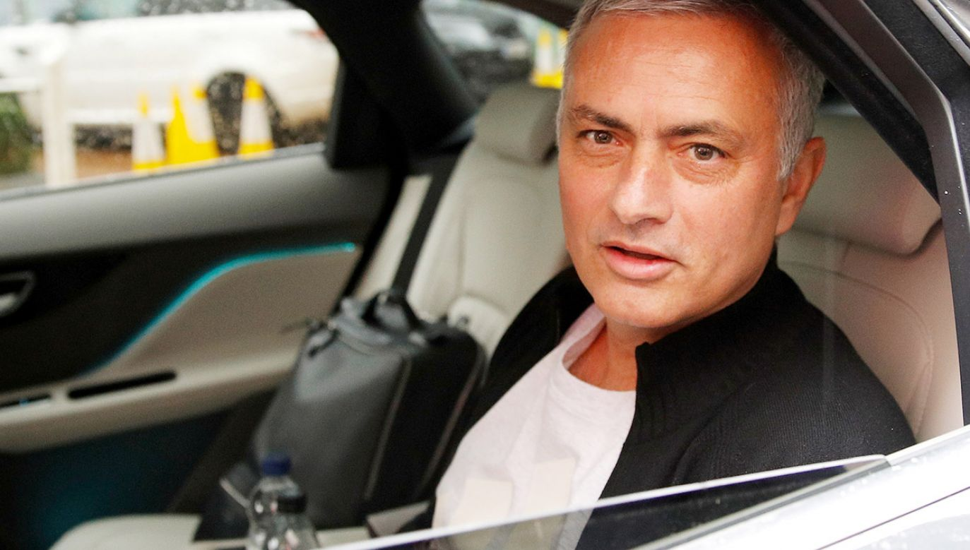 Były trener m.in. Realu Madryt i Manchesteru United Jose Mourinho (fot. REUTERS/Phil Noble)