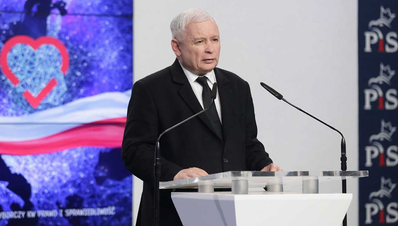 Kaczyński skomentował słowa Cimoszewicza (fot. PAP/Wojciech Olkuśnik)