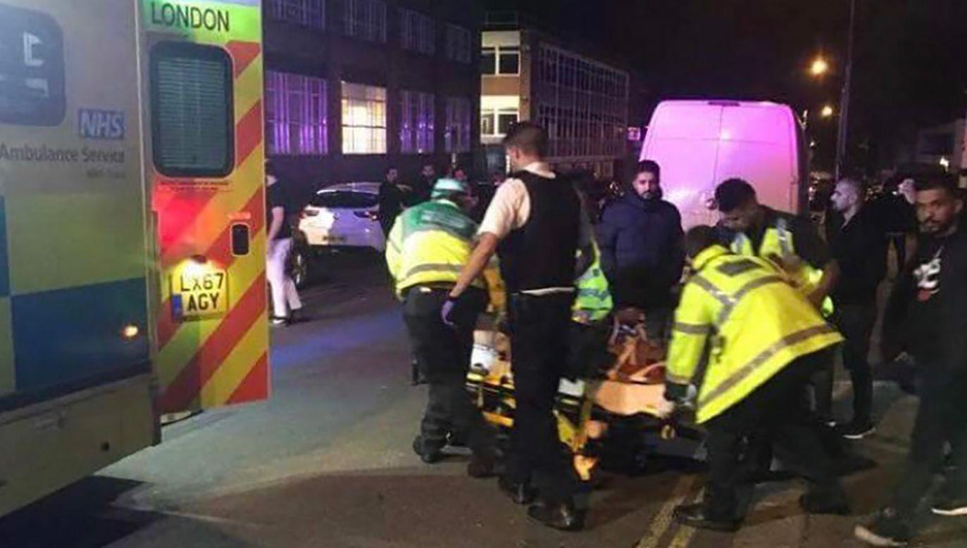 Trzy osoby zostały ranne, dwie przebywają w szpitalu (fot. TT/Shaykh Azhar Nasser)