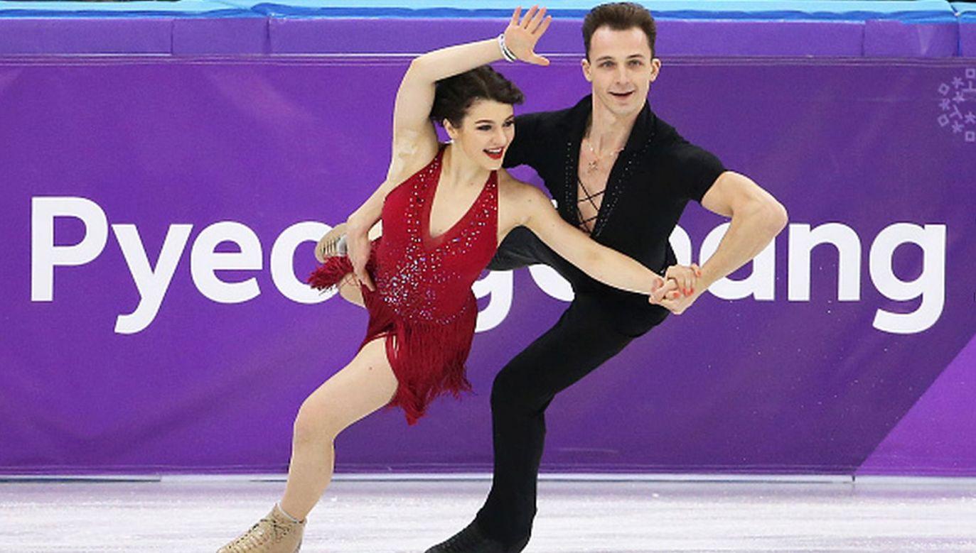 Natalia Kaliszek i Maksym Spodyriew (fot. Getty Images)