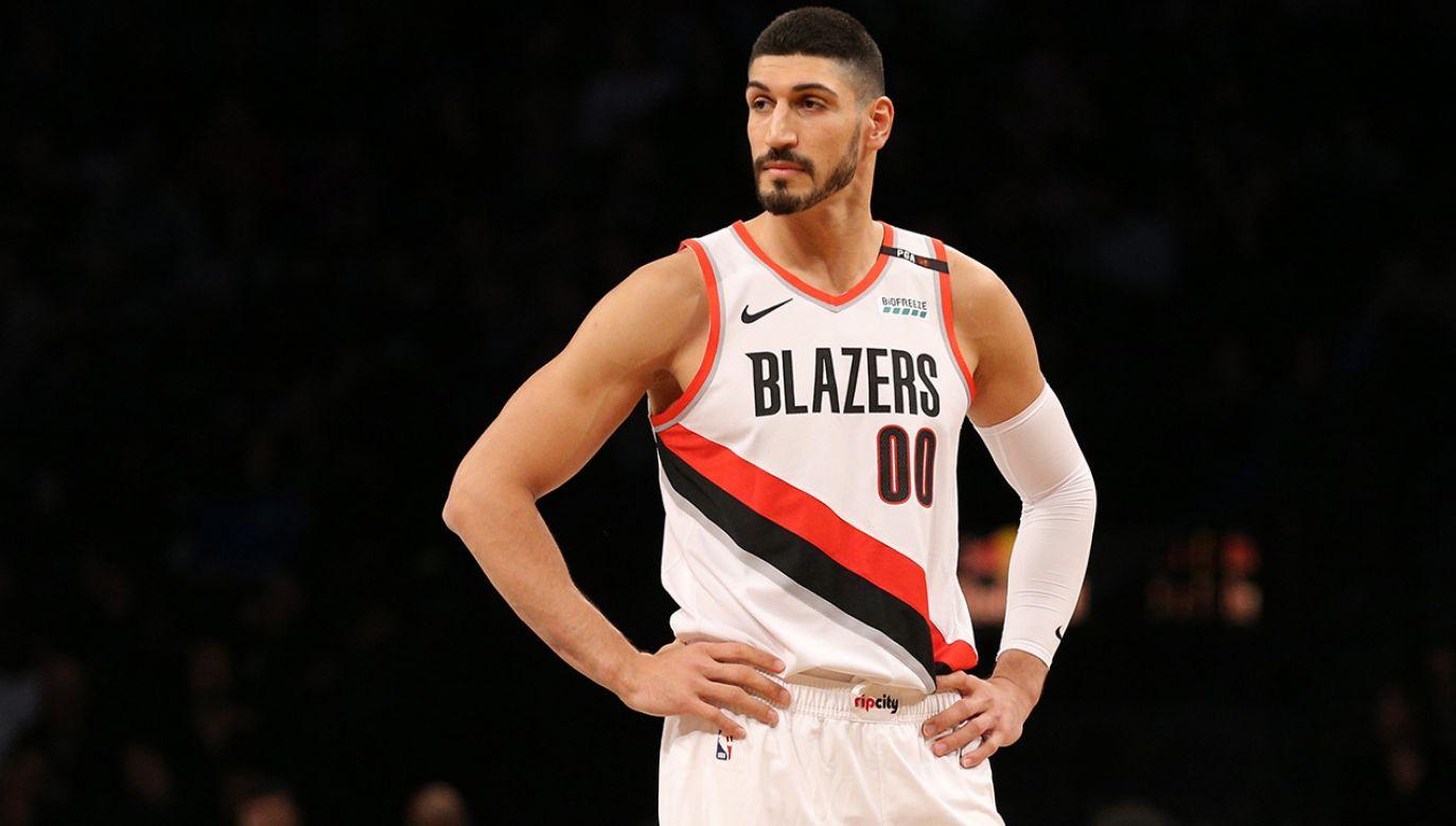 Enes Kanter – turecki koszykarz ligi NBA występujący w Portland Trail Blazers (fot.  REUTERS/Brad Penner-USA TODAY)