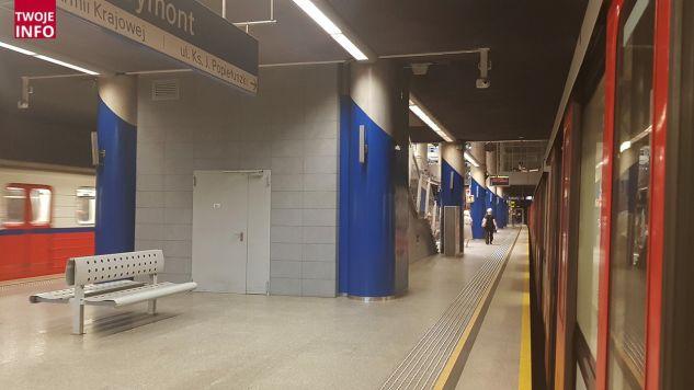 19-letni mężczyzna wpadł pod pociąg warszawskiego metra (fot. Twoje Info)