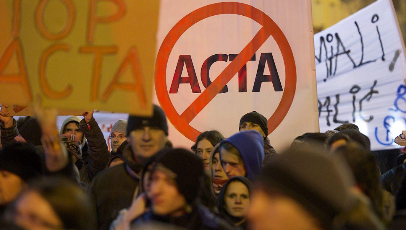 """Zdaniem wicepremiera ACTA2 jest """"regulacją niebezpieczną"""", choć na tyle nieprecyzyjną, że daje możliwość interpretacji.  – Choć niestety w obie strony – dodał (fot. arch.PAP/Adam Warżawa)"""