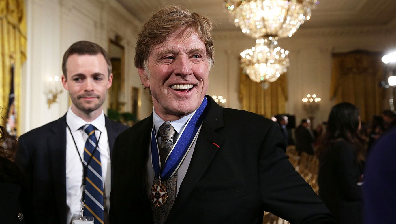 Robert Redford (fot. Alex Wong/Getty Images)