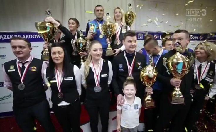 Bilardowe trofea rozdane