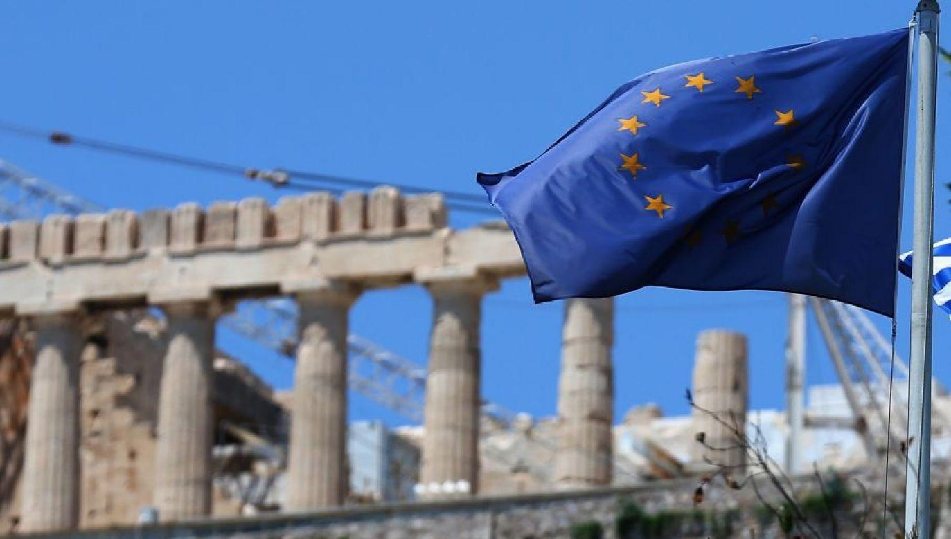 Grecja ma też otrzymać odsetki, jakie zostały wypracowane na jej obligacjach przez Europejski Bank Centralny (fot. Christopher Furlong/Getty Images)