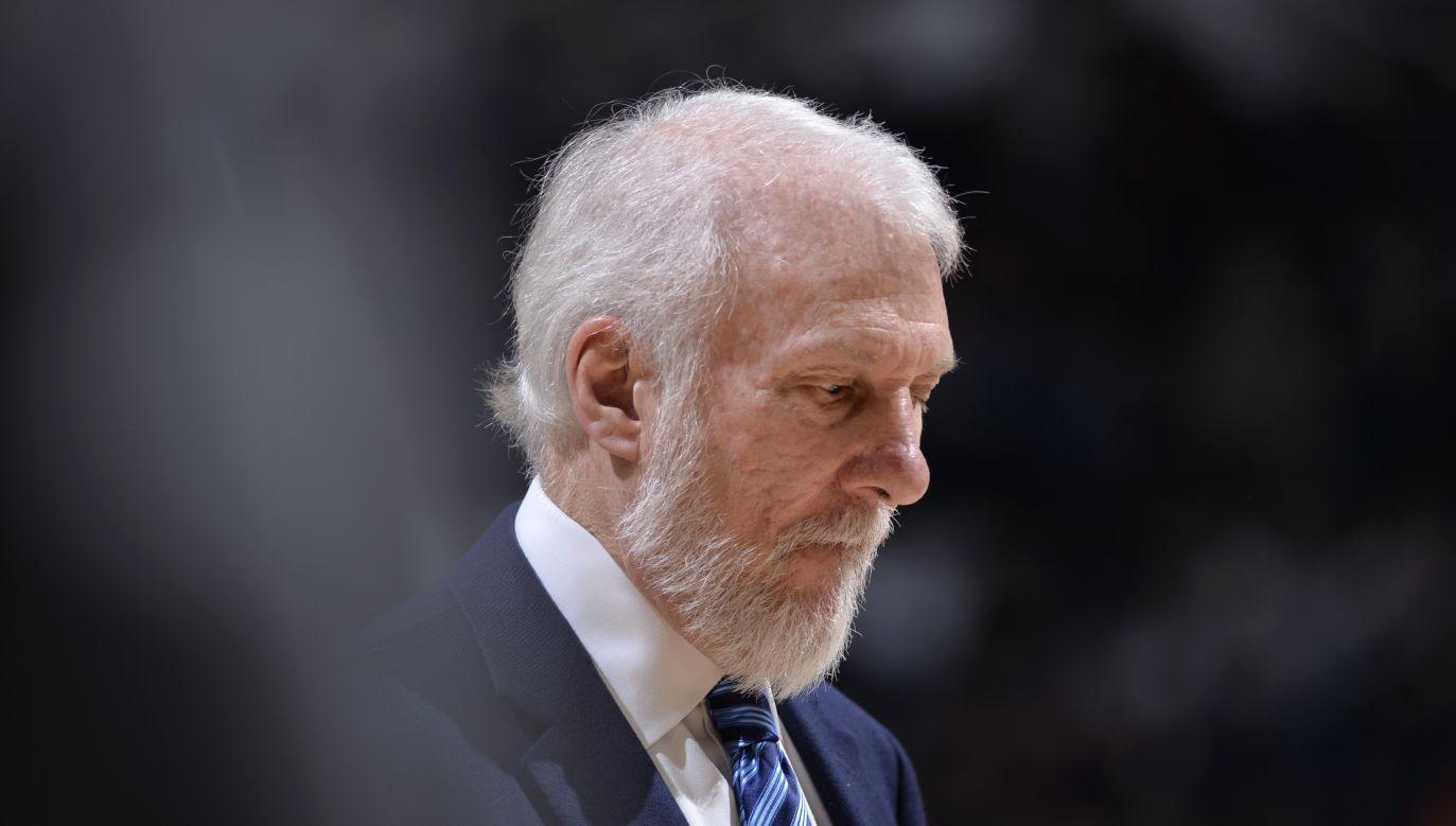 Gregg Popovich przez wielu uznawany jest za najwybitniejszego szkoleniowca w dziejach koszykówki (fot. Getty)